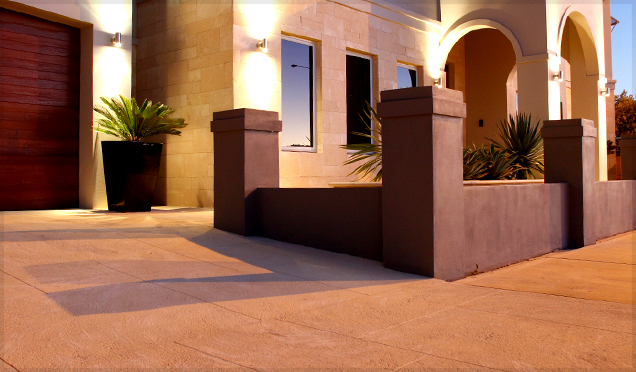 Liquid Limestone Driveways